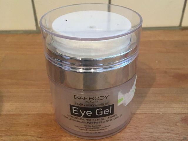 Baebody eye gel bottle