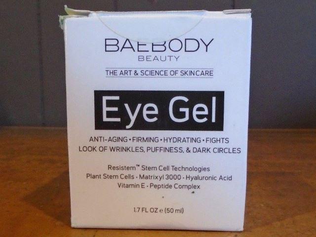 Baebody eye gel review box